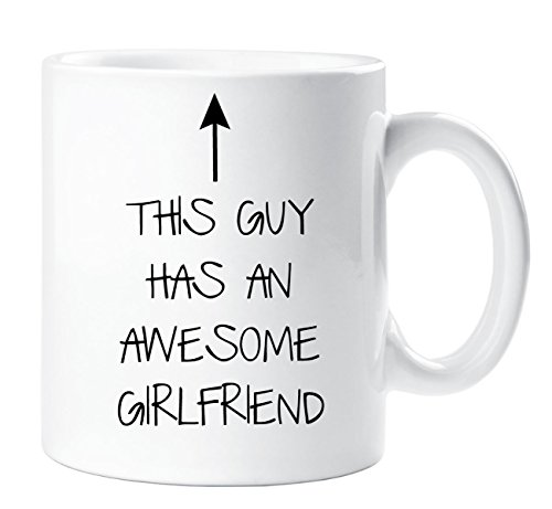This Guy Hat einen Toll Freundin Becher Freund Geschenk Weihnachten Geburtstag Valentinstag Jahrestag