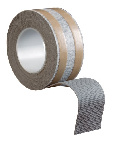 ROBERTS 50-545 2-1/2 Inch by 25 Foot Roll of Rug Traction Indoor Anti-Slip Rug Strip Rubber Tape
