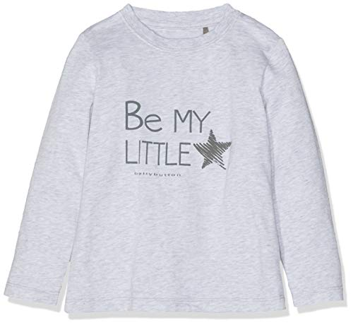 Bellybutton Kids Bellybutton Kids Unisex Baby 1/1 Arm T-Shirt, Grau (Burgaz Melange|Gray 8448), 68