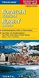 Reisekarte : Norwegen / Schweden -