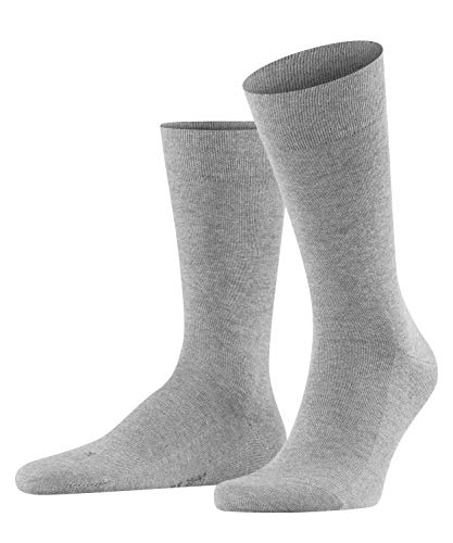 FALKE Herren Sensitive London M Socken, Grau (Light Grey Melange 3390), 47-50 EU