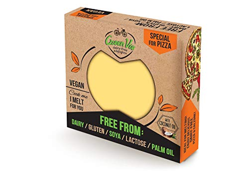 GreenVie Queso de Pizza Bloque vegano 250g (Pack de 2)