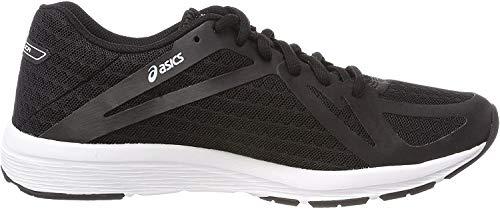Asics Amplica, Zapatillas de Running para Mujer, Negro (Black/Black/White 9090), 39.5 EU