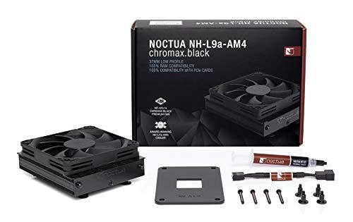 Noctua NH-L9a-AM4 chromax.black 33.8 CFM CPU Cooler