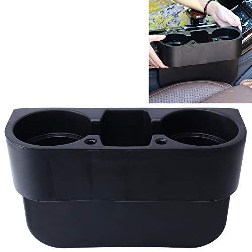 Simple y practico Car Auto ABS de múltiples Funciones del Asiento Organizador del sostenedor del almacenaje de la Bebida del teléfono, Muy práctico (Color : Black)