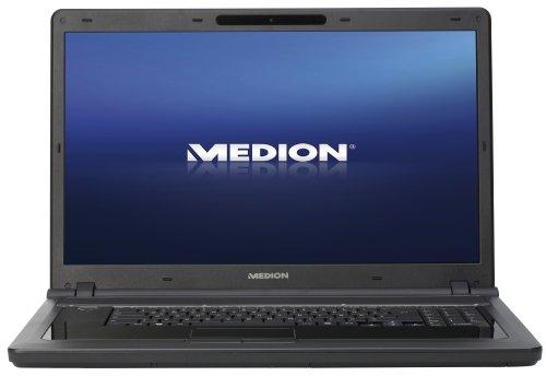 Medion Akoya P8610 46,7 cm (18,4 Zoll) Laptop (Intel Core 2 Duo P7450 2,1GHz, 4GB RAM, 500GB HDD, NVIDIA GeForce 9600M GS, Blu -Ray, Win Vista HP)