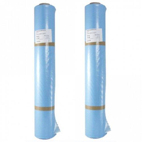 baupark24 Dampfsperrfolie 2x 2m x 50m - PE Folie Dampfsperre Dach Innen - Dampfsperre zur Dämmung - Dampfsperrfolien zur Dachisolierung - Dach Dampfsperre Folie – Dampfsperren
