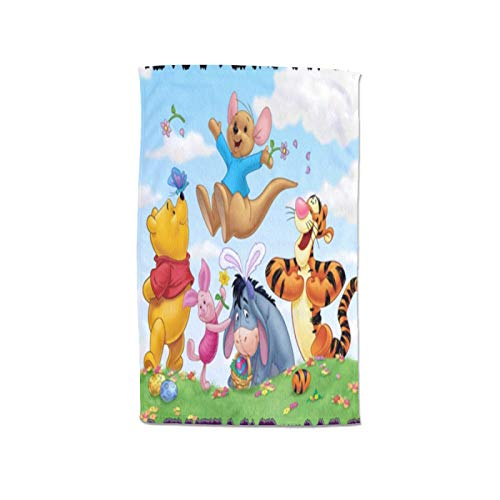 Large Puzzle Winnie The Pooh - Esterilla de yoga con agarre para el sudor, ideal para yoga, pilates, ejercicio, entrenamiento, Bikram y yoga caliente