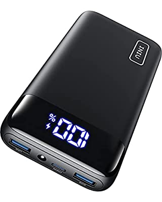 INIU Power Bank, 20W USB C Fast Charging PD3.0 QC4.0 20000mAh Portable Charger, LED Display Phone Battery Pack for iPhone12 Pro Max Xs 8 Samsung S21 S10 Huawei Xiaomi iPad AirPods Tablet[2021 Version]
