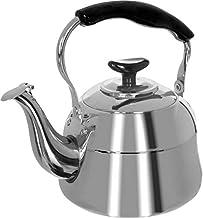 Stainless Teapot 2 L, Silver Black