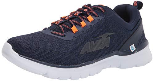 Avia Men's Avi-Factor Running Shoe, Peacoat/Shocking...