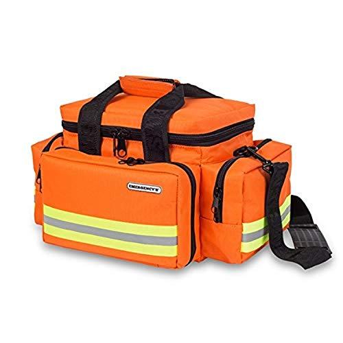 Elite Bags, EMS, Bolsa de emergencias Amplia y Resistente, Naranja