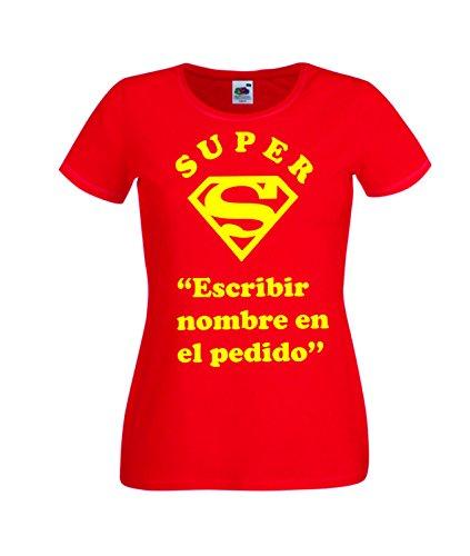 Camisetas divertidas Child Super Nombre