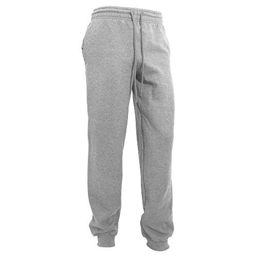 Gildan Herren Heavy Blend Jogging Hose/Sporthose mit Bündchen (XL) (Sport Grau)