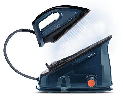 Tefal Effectis Anti-Calc GV6840 2200W 1.4L Suela de Durilium Negro, Azul estación plancha al vapor - Centro de planchado (2200 W, 6,5 bar, 1,4 L, 300 g/min, 100 g/min, Suela de Durilium)