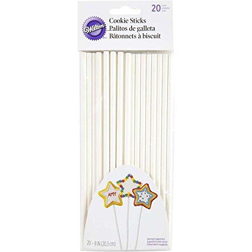 Wilton Cookie Sticks, 8-Inch, White