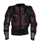 Veste de Protection Moto,Veste Armure Moto Blouson Motard Gilet Protection Équipement de Moto Cross Scooter VTT Enduro Homme ou Femme