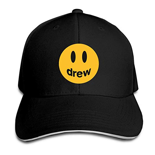 Justin Bieber Xtb221 - Cappello da baseball da uomo Nero Taglia unica