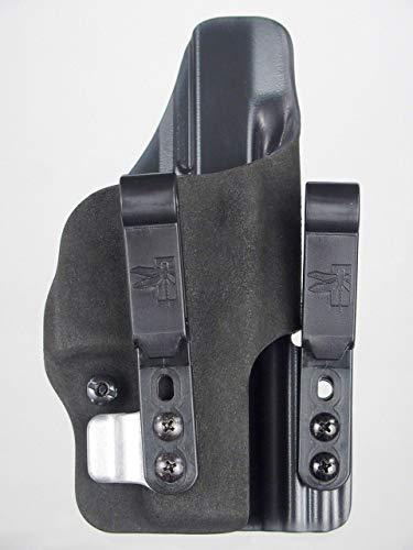 HSP Haley Strategic G-Code Incog Full Guard IWB Tuckable Holster w/Brushed Aluminum Super Mojo (fits Gen 1-4 Glock 19 23 32, Right)