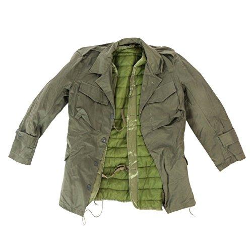 viz-uk wear Feldjacke aus der Griechischen Armee, Olivgrün, M43 Gr. 42, grün