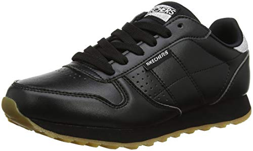 Skechers OG 85 Old School Cool 699-blk, Zapatillas para Mujer, Negro (Black 699/Black), 37 EU