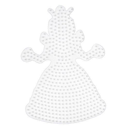 Hama Stiftplatte Prinzessin Weiß 258