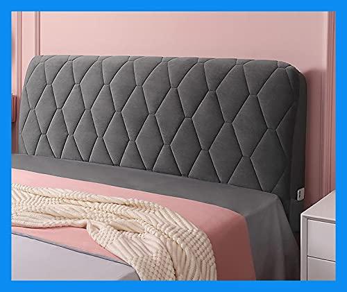 OOFAYWFD Funda de Cabeceros,Headboard Cover 150/180cm Cubierta para Cabecero de Cama a Prueba de Polvo Elástica Lavable Decoración para Habitaciones (Color : A, Size : 200cm/79)