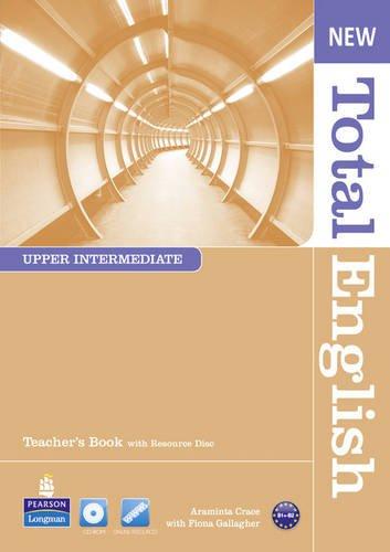 New Total English Upper Intermediate Teacher's Book for Pack