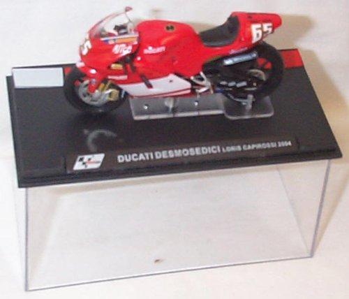 Ducati Desmosedici Loris Capirossi 2004 Moto GP 1/24 Diecast