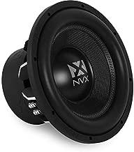 NVX 12-inch True 1000 watt RMS 2000 watts Peak Dual 2-Ohm Car Subwoofer 3-Dimensional Die Cast Aluminum Basket [VCW122]