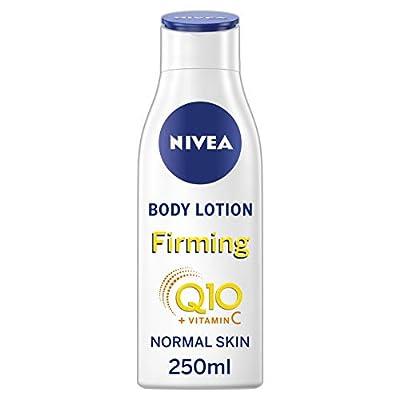 NIVEA Light Firming Body Lotion Q10 + Vitamin C Pack of 6 (6 x 250 ml), Nourishing Firming Cream with Q10 & Vitamin C, NIVEA Soft Moisturising Cream for Firm Skin from Beiersdorf UK Ltd