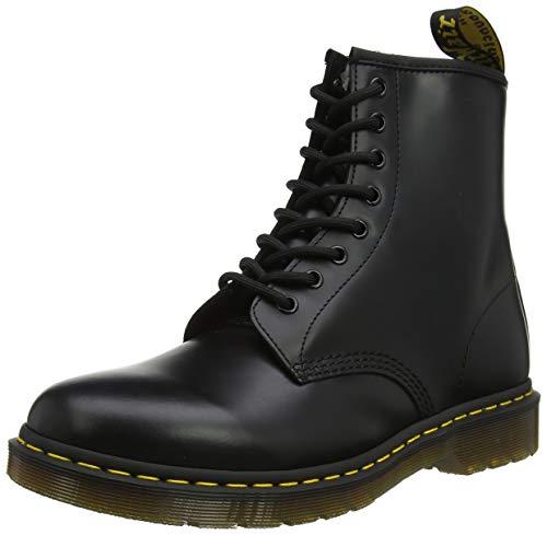 Dr. Martens Unisex-Erwachsene 1460 Smooth Klassische Stiefel, Schwarz (Black 11822006), 43 EU
