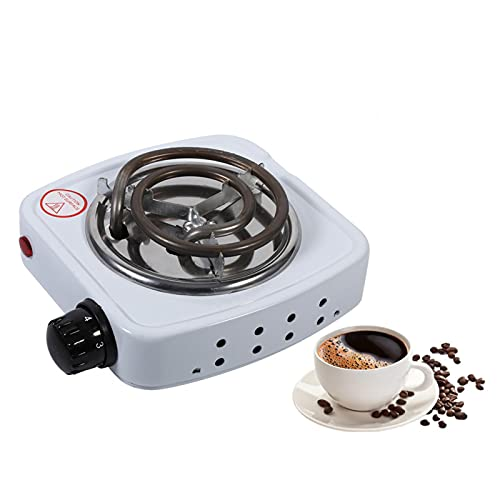 Liujaos Mini Estufa, Estufa eléctrica Duradera, cafetería para la Cocina de la Oficina en casa