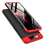 MRSTER Samsung A80 Case, 3 in 1 Ultra Thin Hard PC Case