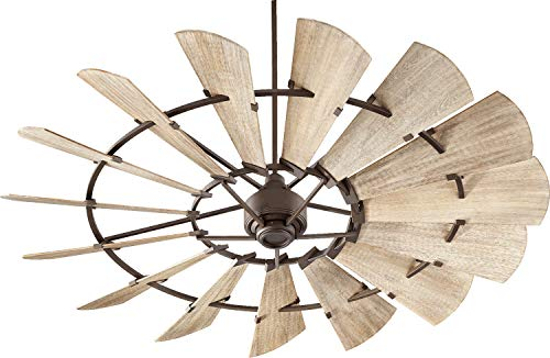 Quorum International Windmill 72' Ceiling Fan - Oiled Bronze - 97215-86