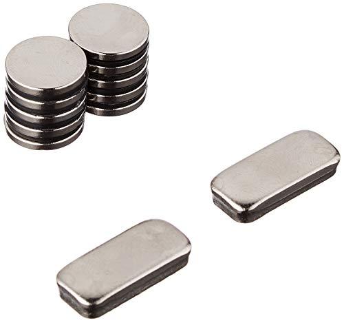Magnet Expert 15mm dia x 2mm thick N35 Neodymium Magnet - 1.8kg Pull ( Pack...