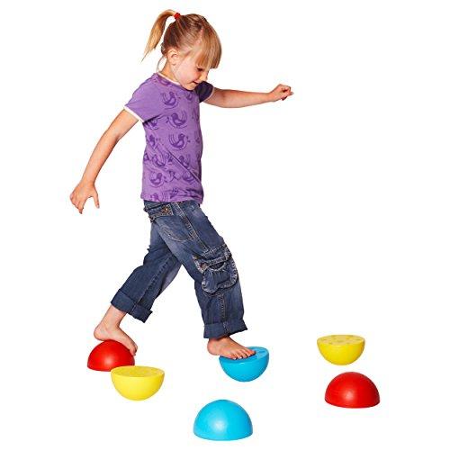 Balancier-Halbkugel aus Kunststoff, Balancierspiel, Balance Spiel, Stück
