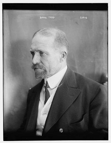 HistoricalFindings Photo: David Peck Todd,1855-1939,Noted American Astronomer,Transit of Venus 1