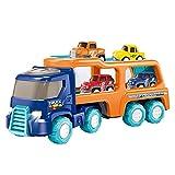 Pequeños coches de construcción, carros de transporte, juguetes para coche, vehículos técnicos, juguetes para el coche, minicamión, juego de juguetes para niños y niñas.