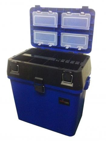 Fishing Fishing Seat & Tackle Box - Seatbox for all Styles of Fishing with...