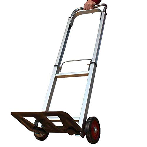 XUSHEN-HU Folding Hand Truck With Strong Load Capacity Luggage Shopping Trolley Continuous Flow Back Handle Kitchen