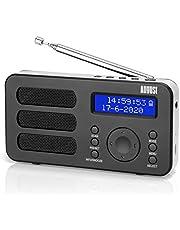 FM/DAB/DAB+ radio-ontvanger met Bluetooth - augustus DR245 - Eenvoudig DAB, DAB+, FM-radio of Bluetooth toevoegen aan uw bestaande luidsprekersysteem