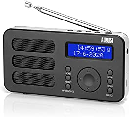 Radio Digitale Portatile DAB+/DAB/FM  August MB225