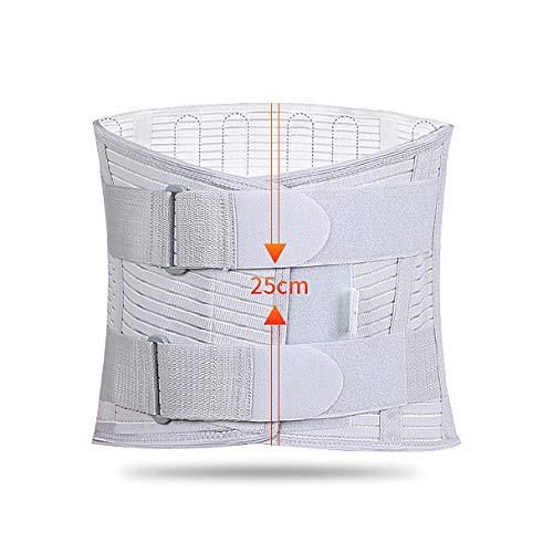 ZFF Espalda Apoyo-Soporte Lumbar Cinturón-Alto Cintura Inferior Espalda Cinturón para...