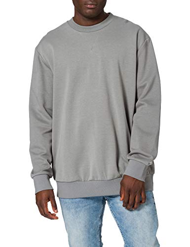 JACK & JONES Male Plus Size Sweatshirt Schlichtes EU4XL US2XLSedona Sage