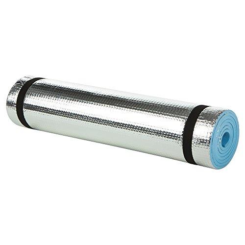 Aktive - Esterilla aislante camping de aluminio 180 x 50 x 0.6 cm (52646)