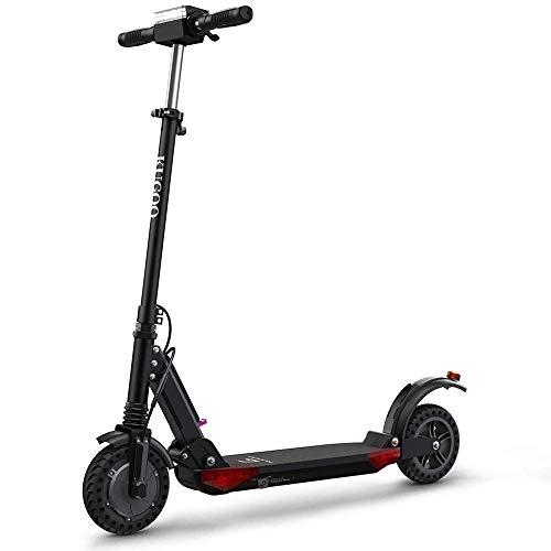 Kugoo S1 Pro Scooter eléctrico Plegable La Pantalla LCD del Motor 350W Muestra 3 Modos de Velocidad 30 km/h-Negro