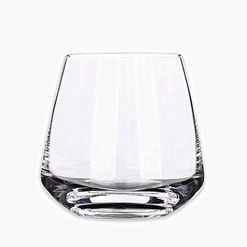 WYK Vaso de whisky, 400 ml, juego de 2 piezas, soplado a...