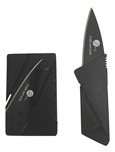 10 pack Credit Card Knife Folding Blade Knife by JJMG Pocket Mini Wallet Camping Outdoor Pocket Tools Folding Tactical Knife survival knife