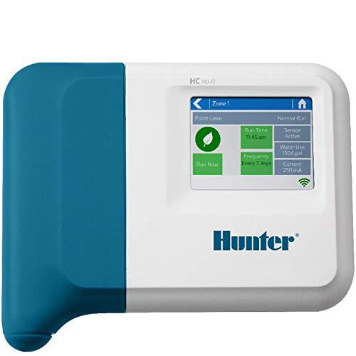 Hunter Industries HC1200I Hydrawise HC 12-Station Indoor Irrigation Controller, Blue